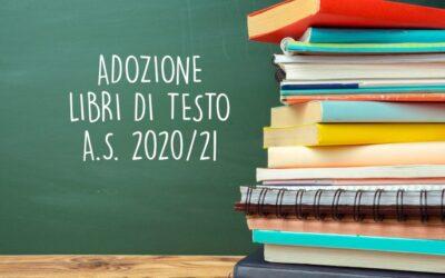 Pubblicati gli elenchi dei libri di testo per l'a.s. 2020/21