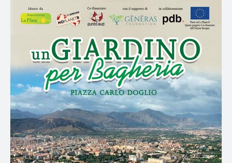 Un giardino per Bagheria, la nostra scuola tra i partner del progetto