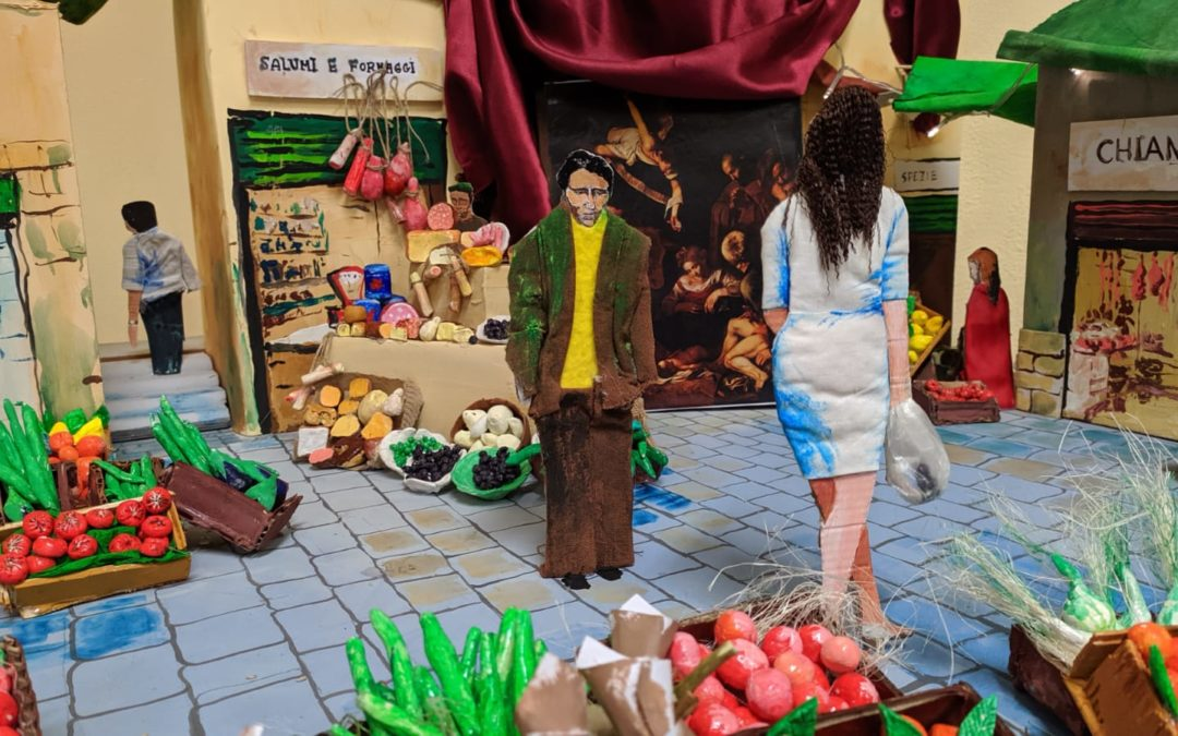 """Premiazione del concorso """"Ricordiamo le nostre tradizioni: il presepe"""", alla nostra scuola il premio per la migliore scenografia"""